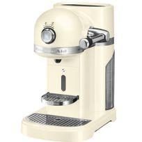 KITCHENAID - cafetière nespresso automatique 19bars creme - 5kes0503eac
