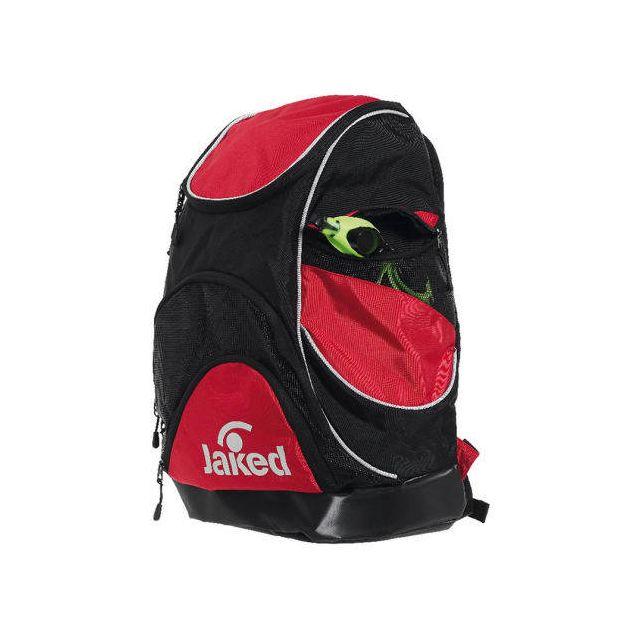 e7c94eece52e8d Jaked - Sac à dos de natation Atlantis Xl Backpack noir rouge Multicolour - pas  cher Achat   Vente Sacs de piscine - RueDuCommerce