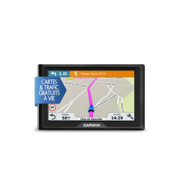 destockage garmin gps voiture drive 50 lm pas cher achat vente assistant d 39 aide la. Black Bedroom Furniture Sets. Home Design Ideas