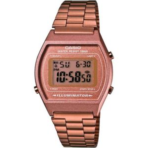 montre casio femmes rose or