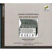 Etcetera - Johann Sebastian Bach - Arie cariate & lamenti