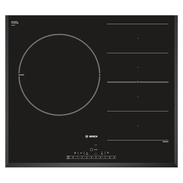 bosch table de cuisson induction 60cm 3 feux 7200w flexinduction noir piq651f17e achat. Black Bedroom Furniture Sets. Home Design Ideas