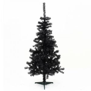 feerie christmas sapin de noel noir 180cm de hauteur. Black Bedroom Furniture Sets. Home Design Ideas