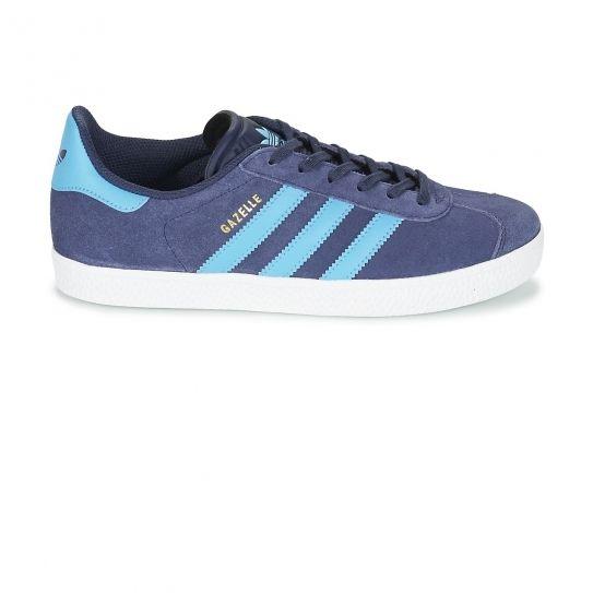 Adidas originals Chaussures Gazelle NavyTurquoise Jr e17
