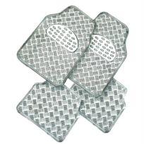 Custo Auto - Tapis pvc Metalic gris