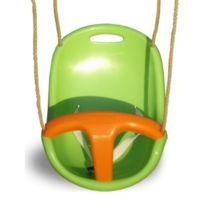 Trigano - Siège bébé vert et orange