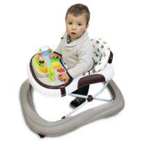 MONSIEUR BEBE - Trotteur bébé évolutif musical pliable réglable en hauteur