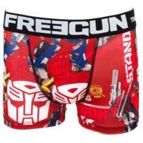 Freegun - Sous vêtement boxer Tf noir/blc boxer jr Rouge 24000