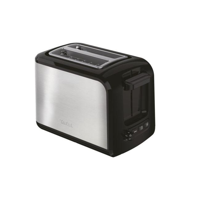TEFAL Grille-pain Express - TT410D10 - Inox/Noir