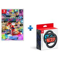Mario Kart 8 Deluxe + Paire de volants Joy-Con Switch