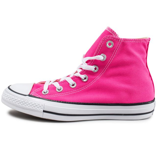 CONVERSE Chuck Taylor All Star Montante Rose Pas Cher