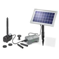 Esotec - Kit pompe solaire petit bassin Rimini Plus N avec batterie
