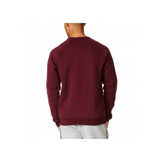 Adidas originals Sweat Crew Bordeaux Homme Adidas pas