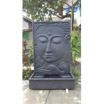 Wanda Collection   Grande Fontaine De Jardin Mur Du0027eau Visage De Bouddha 2m  10