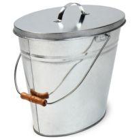 Jago - Seau à cendres ovale avec un volume de 14 L