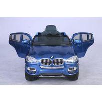 Bmw - Voiture électrique bébé enfant Suv 4x4 X6 à commande parentale 12V Bleu