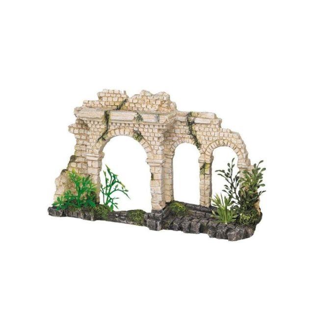 Nobby Aqua Deco Tri-Arch Brick Gate 250 x 65 x 150mm pour aquarium