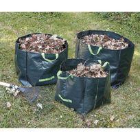 Greengers - Lot de 3 sacs a déchets végétaux 70/100/170 L
