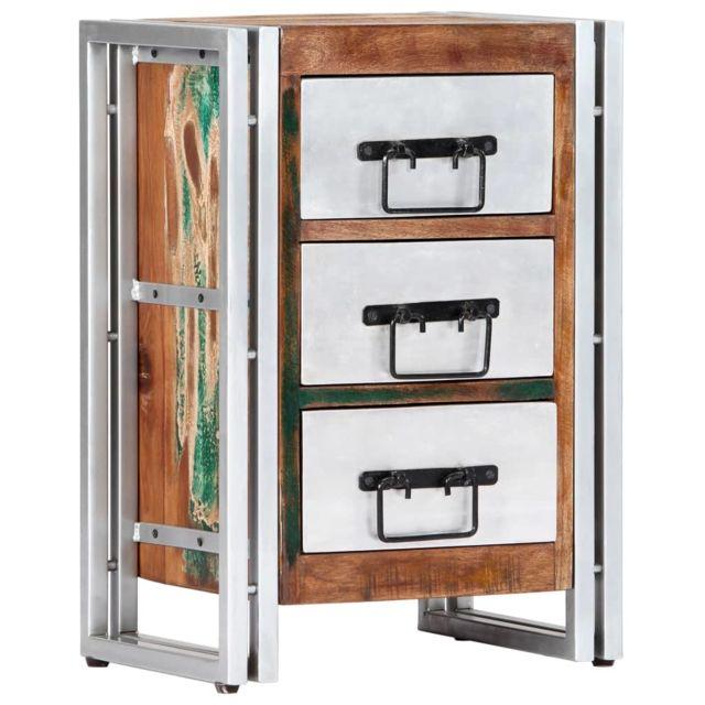 Icaverne - Commodes edition Armoire à tiroirs 40 x 30 x 60 cm Bois de récupération massif