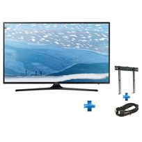 TV LED UE-55KU6000 + support mural + cable HDMI SD302768