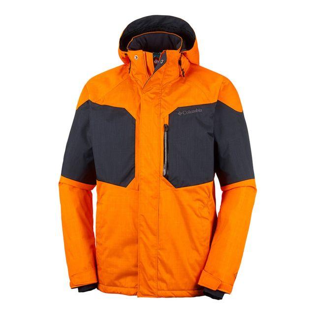 Columbia Cher Vente Alpine Orange Pas Achat Action Veste Noir rWYC8cg1rx