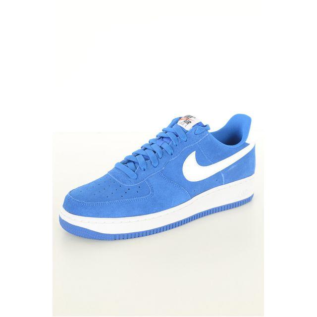 2dd27081d5d Nike - Baskets Cuir Air Force 1 - pas cher Achat   Vente Baskets homme -  RueDuCommerce