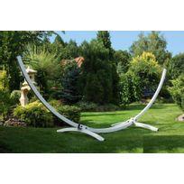 Farm - Mdlt - Support de hamac blanc en acier 350x125x120cm