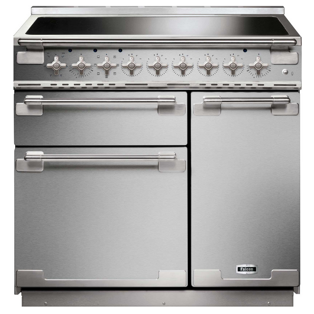 falcon piano de cuisson induction a 73l 5 feux inox els90eisseu achat vente cuisini re. Black Bedroom Furniture Sets. Home Design Ideas
