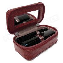 Volumica - Mignonette à bijoux cuir Rouge-bordeaux Beaubourg