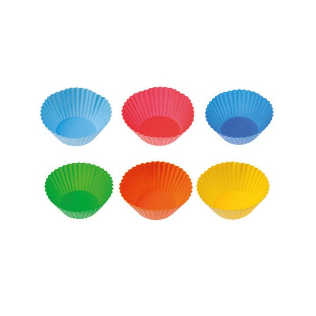 Pavoni Moule silicone 6 muffin individuels