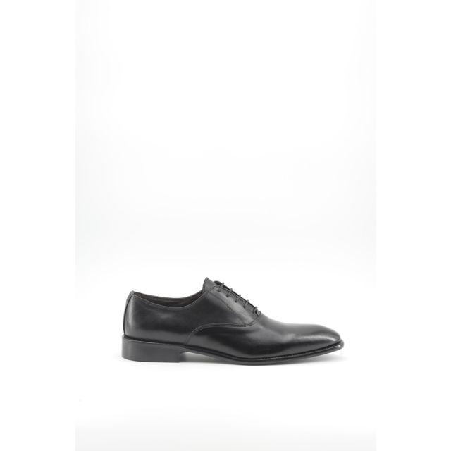 Buzzao - Chaussures habillées à lacets en cuir noir Homme - Made in Italia  - Gerardo 977aa92040d0