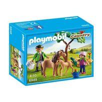 Playmobil - 6949 Vétérinaire avec enfant et poneys