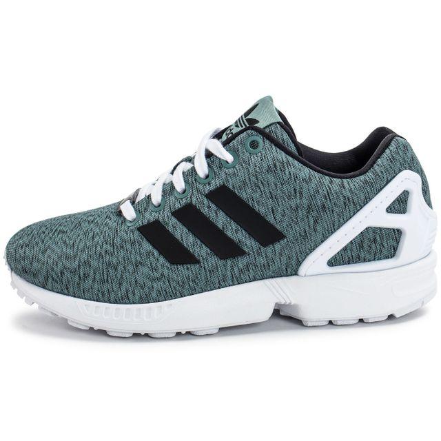 adidas zx flux vert kaki