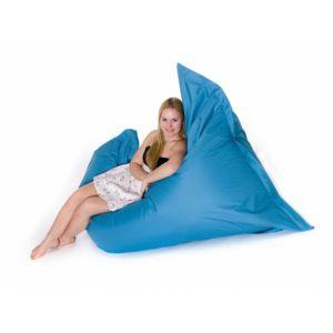 beliani pouf g ant xxl coussin de sol 140x180 cm meuraude turquoise pas cher achat. Black Bedroom Furniture Sets. Home Design Ideas