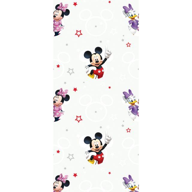 Bebe Gavroche   Rouleau Papier peint Mickey avec Mickey Minnie et