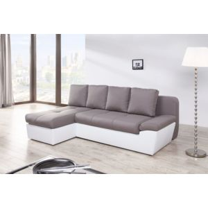 relaxima freestyle canap d angle gauche ou droit convertible avec 2 coffres 138cm x 86cm x. Black Bedroom Furniture Sets. Home Design Ideas