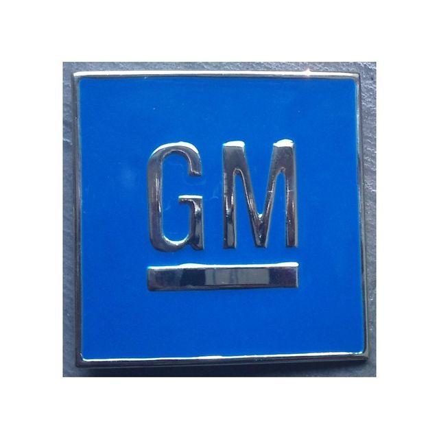 Universel Boucle de ceinture Gm bleu general motors homme femme