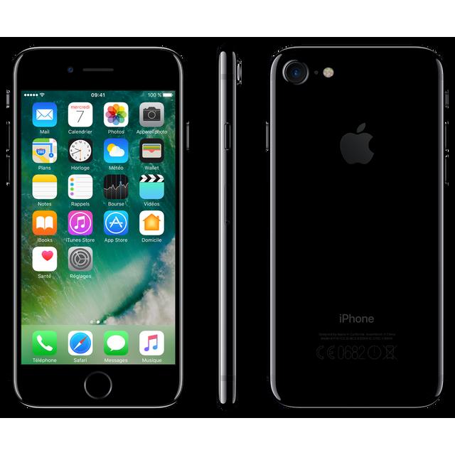 APPLE iPhone 7 - 256 Go - MN9C2ZD/A - Noir de Jais