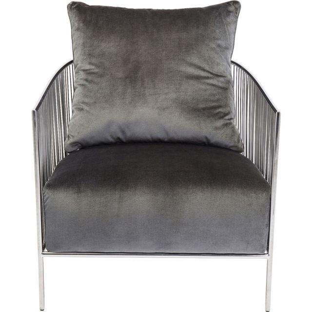 Karedesign Fauteuil Sorento gris Kare Design