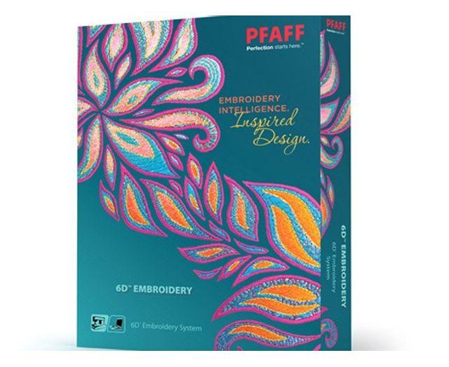 PFAFF - Logiciel 6D Embrodery