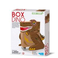 4M - Kidz Labs - Kit de fabrication Green Science : Boîte Dino