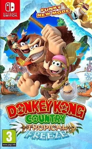 Donkey Kong Country : Tropical Freeze - Jeu Switch