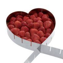 Artemio - Cadre à pâtisserie extensible - coeur