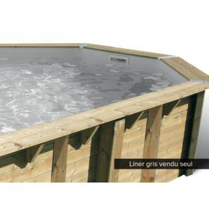 Ubbink liner seul pour piscine bois oc a 8 60 x 4 70 x 1 for Liner piscine bois pas cher