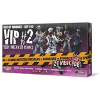 Guillotine Games - Zombicide - Box of Zombies Set , 10 - Very Infected People 2 VIP , 2