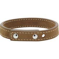 Rochet - Bracelet Homme modèle Sherpa Cuir Marron Clair - Lc1031323