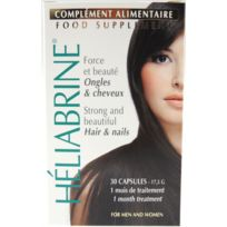 Heliabrine - Capsules Complement Alimentaire Ongles & Cheveux