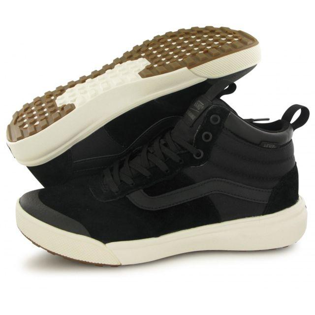 Vans Baskets Ultrarange Hi Montante Noir Homme pas cher