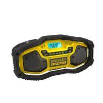 Stanley - Fmc770B Radio de Chantier Compacte Bluetooth 18V Li-Ion Accu ou Réseau