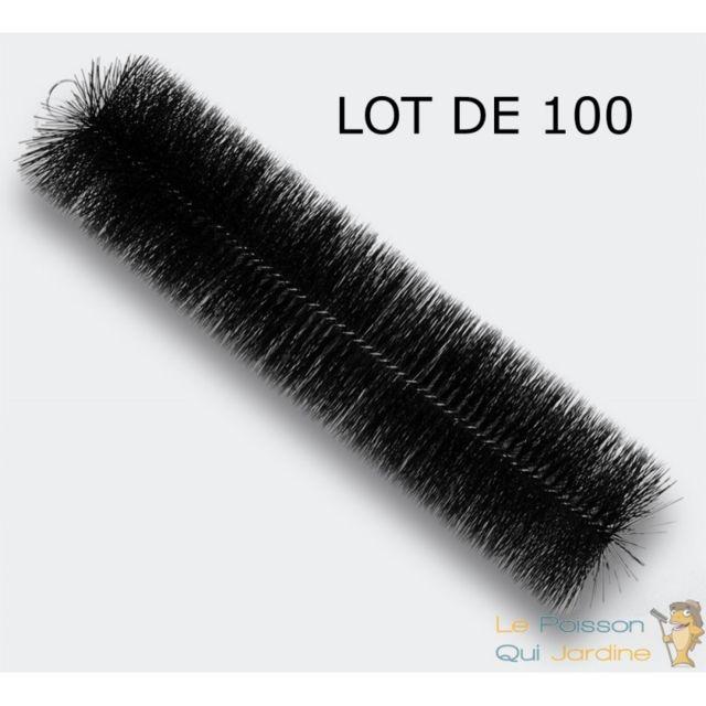 Le Poisson Qui Jardine 100 Brosses De Filtration, 60 cm, Pour Filtre De Bassins De Jardin